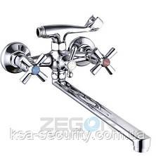 Смеситель для ванны ZEGOR DFR7-B722 (Зегор), фото 2