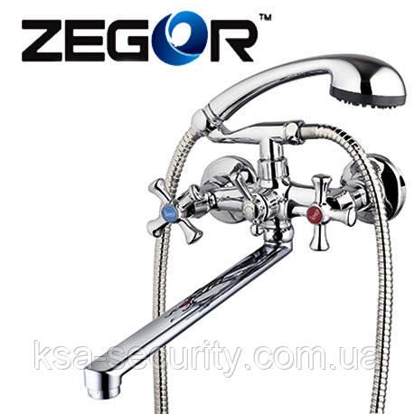 Смеситель для ванны ZEGOR DFR7-B722 (Зегор)