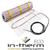 Нагревательный мат двужильный 1,4кв/м IN-THERM ECO для укладки под плитку в плиточный клей