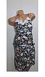 Комплект халат+рубашка женский бамбук Saimeiqi  арт 1818     3 XL р., фото 2