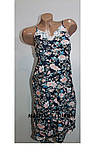 Комплект халат+рубашка женский бамбук Saimeiqi  арт 1818     3 XL р., фото 3