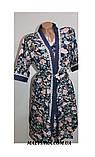 Комплект халат+рубашка женский бамбук Saimeiqi  арт 1818     3 XL р., фото 6