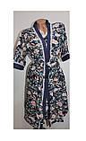 Комплект халат+рубашка женский бамбук Saimeiqi  арт 1818     3 XL р., фото 4