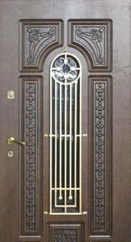 """Входная дверь """"Портала"""" (серия Patina Elit) ― модель BIG-16"""