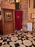 Напольный киот резное дерево 3.1м (для храма в Испании), фото 2