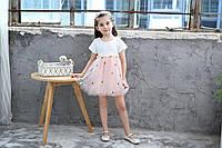"""Платье для девочки нарядное марки """"JUSTY"""""""