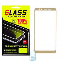 Защитное стекло Full Screen Xiaomi Mi6X, Mi A2 gold Glass