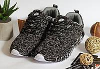 Кроссовки Nike Air Thea Беговые Черно серые, фото 1