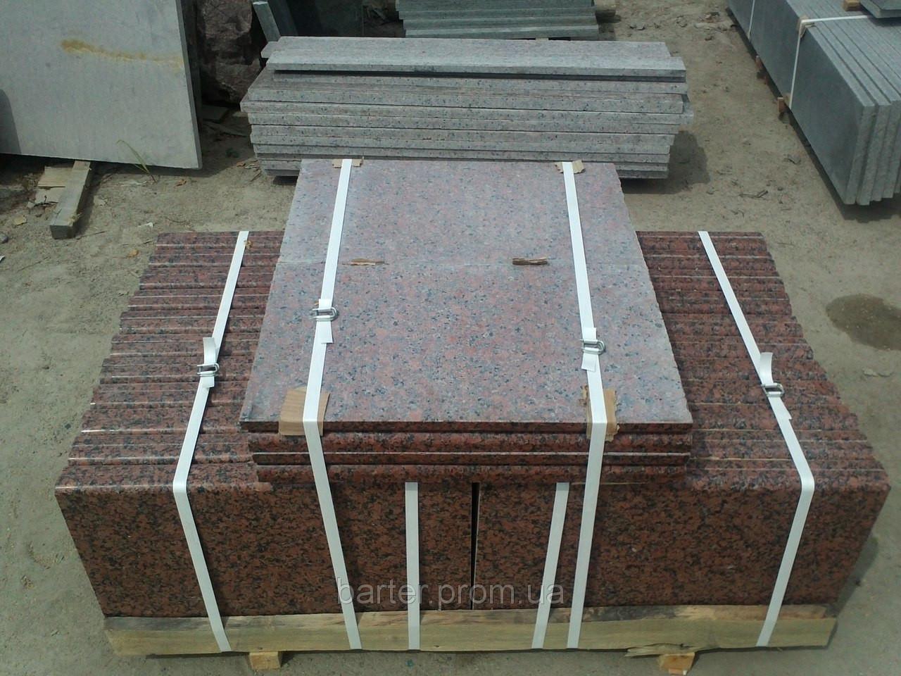 Производство плитки гранитной Покостовка термо 40 мм