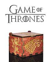 "Музыкальная шкатулка ""Game of Thrones - Игра Престолов"" (Махагони Реверс)"
