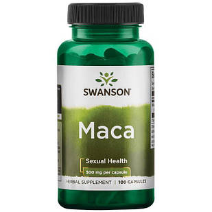 Мака перуанская ПОТЕНЦИЯ+ Maca 500 mg, 100 капс Lepidium США