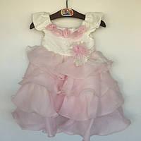 Платье для девочки нарядное детское Vilen Китай розовый 0925