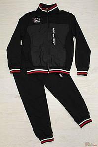 Костюм спортивный для мальчика чёрный(140,146)р A-yugi Турция 4842