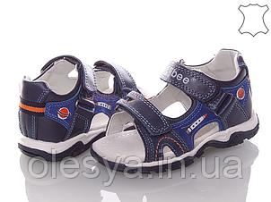 Босоножки сандалии летние на мальчика Clibee Кожа размеры 25- 30