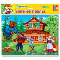 Мягкие пазлы А4 Сказки. Теремок VT1102_22