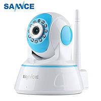Беспроводная ip-камера 2Mp безопасностиSANNCE I41ED ИК ночное видение. Детский монитор.CCTV. iCsee.