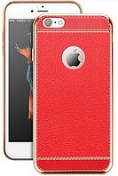 Роскошный чехол бампер для iPhone 7/8 красный