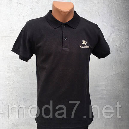 Футболка мужская черная Polo реплика, фото 2