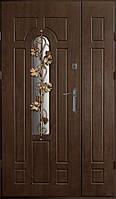 Двери входные Вип дуб бронзовый виноград (Ш 1200)