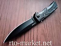 Нож выкидной (складной) классический черный