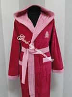 Бамбуковый женский халат с капюшоном Ramel Турция