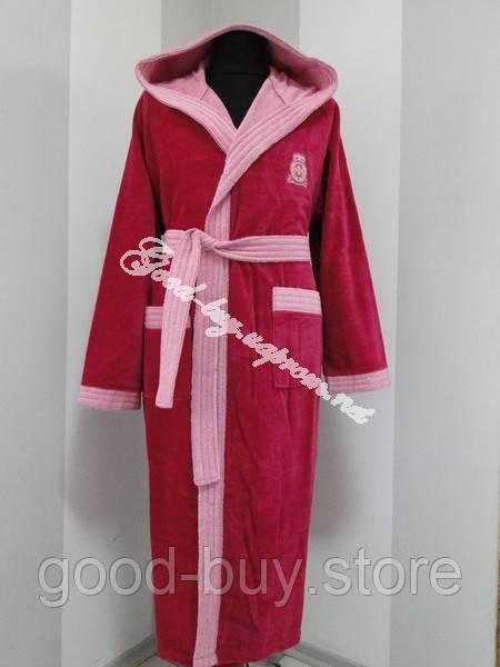95185ceb70b0 Бамбуковый женский халат с капюшоном Ramel Турция - купить и ...