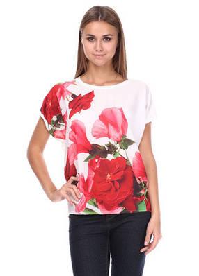Стильная женская блуза полубатал
