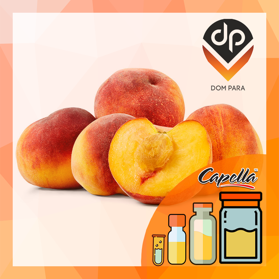 Ароматизатор Capella Peach with Stevia| Персик и стевия