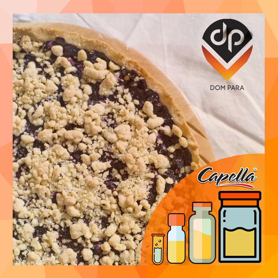 Ароматизатор Capella Blueberry Cinnamon Crumble| Черничный пирог с корицей