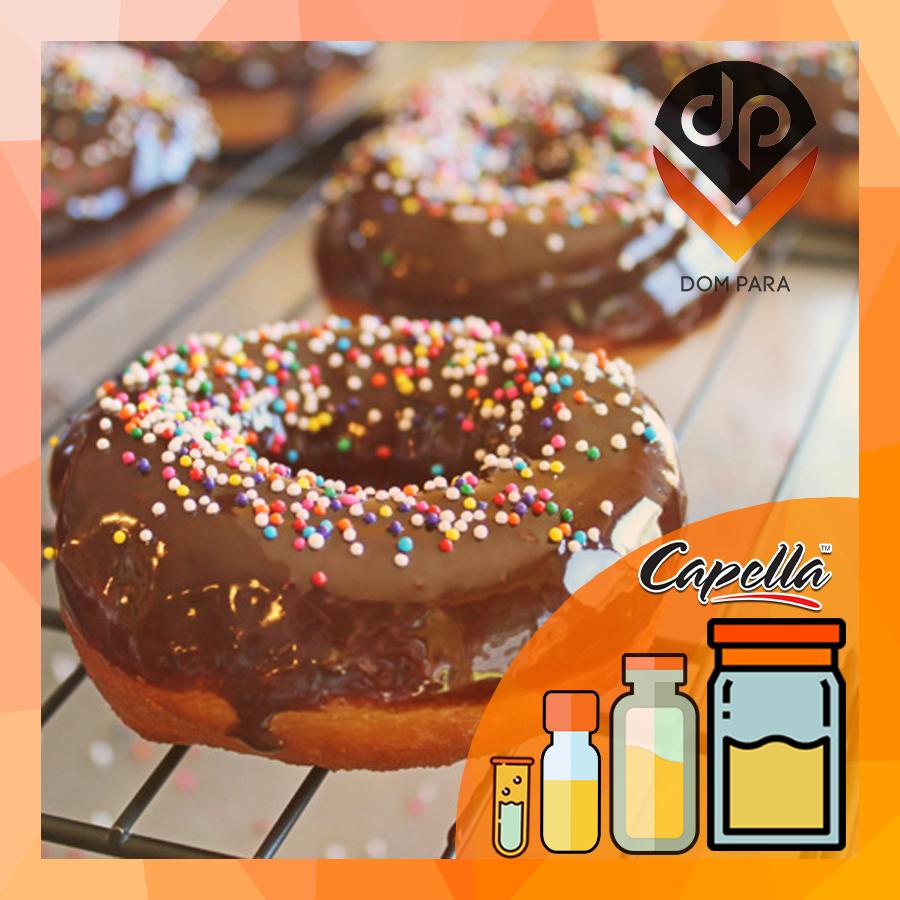 Ароматизатор Capella  Chocolate Glazed Doughnut  | Шоколадный пончик с глазурью