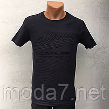 Футболка мужская черная Турция, фото 2