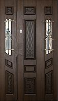 Двери входные Вип+ дуб бронзовый патинированый 901 (Ш 1200)