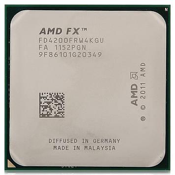 Процессор AMD FX 4200 3.3GHz/8M/5.2GT/s (FD4200FRW4KGU) AM3+, tray