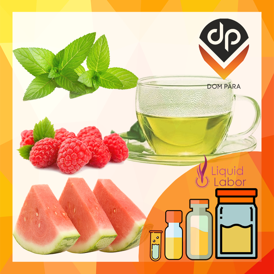 Ароматизатор Liquid Labor Green Fire | Грин Файр (зелёный чай, мята, малина, арбуз)