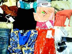 Женская стоковая одежда
