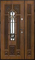 Двери входные Вип+ золотой дуб патинированый 904 (Ш 1200)