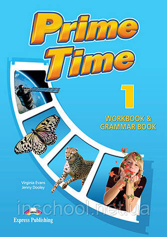 PRIME TIME 1 WORKBOOK  & GRAMMAR (INTERNATIONAL) ISBN: 9781780984438, фото 2