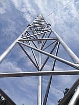 Мачта алюминиевая M440FL высота 20 метров, фото 2
