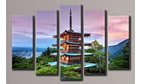 Модульная картина Япония 54х83.5 см (HAB-069)