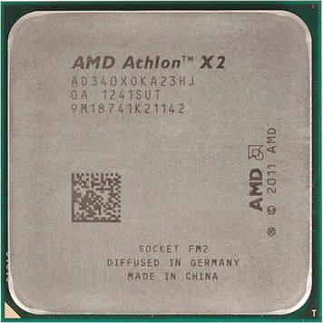 Процессор AMD Athlon II X2 340 3.2GHz/1M/2000 (AD340XOKA23HJ) sFM2, tray