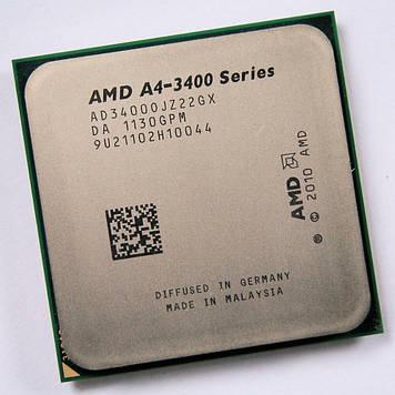 Процессор AMD A8-Series A4-3400 3.2 GHz/1M/1600 (AD3400OJZ22GX) sFM1, tray