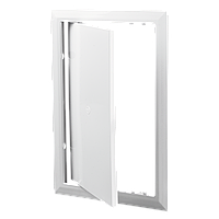 Ревизионная дверца Д 200*250 пластик АВС Вентс бежевый