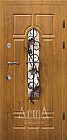 Двери входные Арма дуб золотой тип 3 модель 105 №3 улица