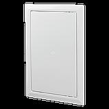 Ревизионная дверца Д 200*200 пластик АВС Вентс зеленый мрамор, фото 2