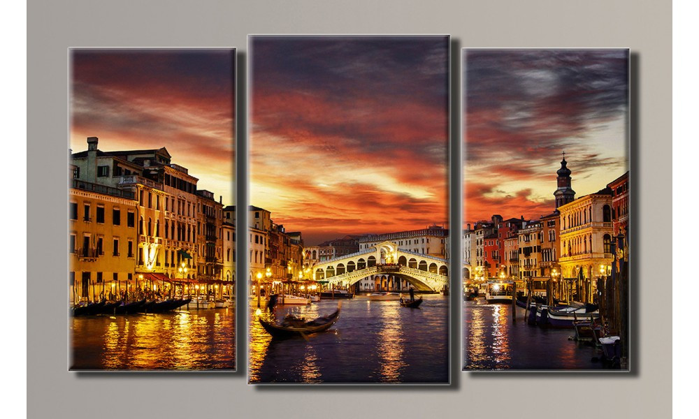 Модульная картина Италия 54х88 см (HAT-081)