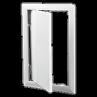 Ревизионная дверца Д 150*150 пластик АВС Вентс зеленый мрамор