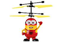 Игрушка летающий миньон из Гадкий Я Человек Паук