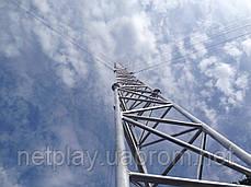 Мачта алюминиевая M440FL высота 12 метров, фото 2