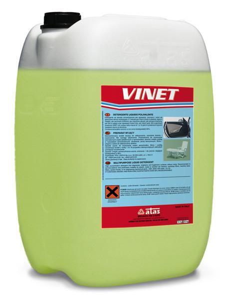 Очиститель для пластика и дерева ATAS Vinet, 10л.
