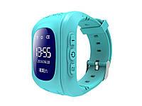 Детские часы с GPS SQ50 трекером  Синий